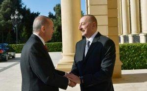 Prezident İlham Əliyev Rəcəb Tayyib Ərdoğan ilə görüşüb - FOTOLAR /Yenilənib