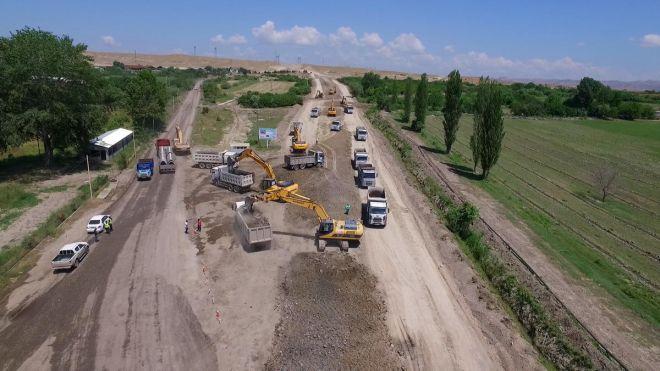 Yevlax-Zaqatala-Gürcüstan Respublikası ilə dövlət sərhədi avtomobil yolu təmir olunur