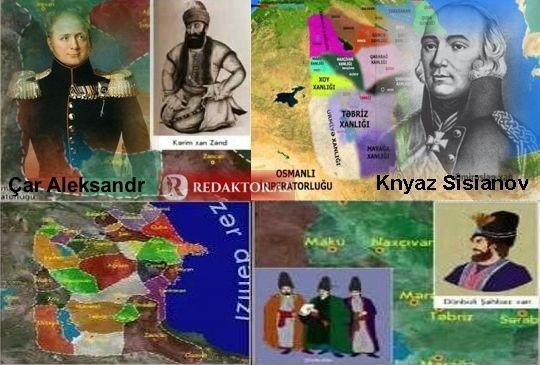 Bölünmüş Azərbaycana aparan yol  - Rusiyanın toruna düşən xanlıqlarımız