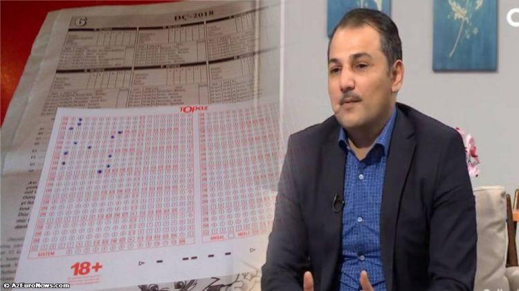"""Meyxanaçı Vüqar 144 min manat udub? - """"TOPAZ""""-dan RƏSMİ AÇIQLAMA"""