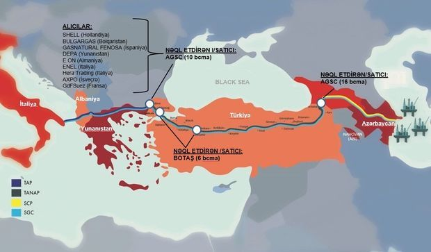 Azərbaycan Türkiyəyə qaz satışını artıra bilər